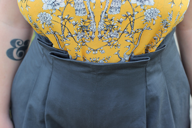 Winslow Culottes Paperbag Waist