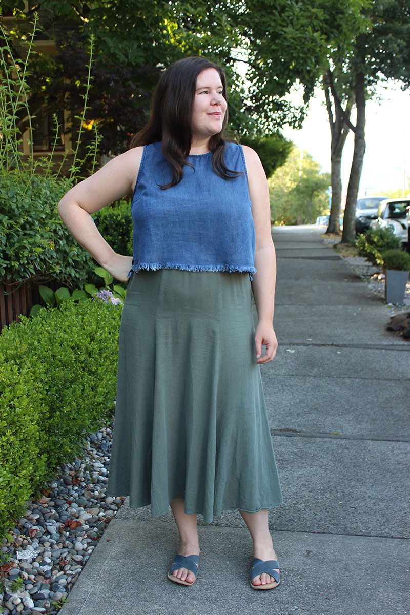 Frayed Hem Ashton Top Hack