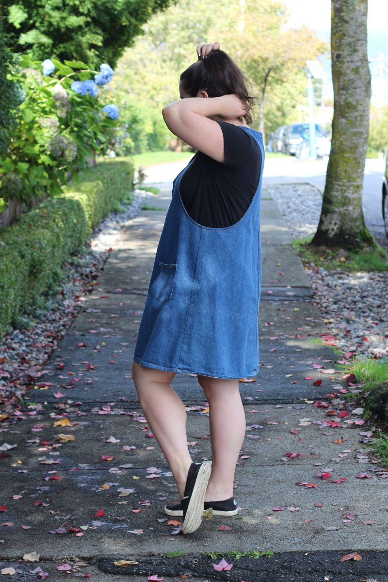 York Pinafore A-line Hack Refashion