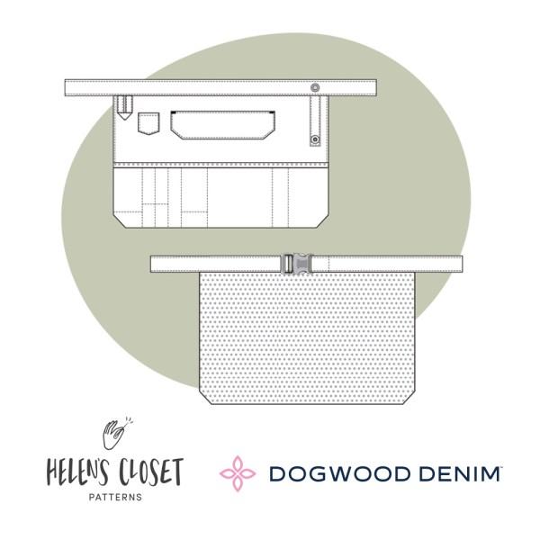 Dogwood Apron flat Illustration