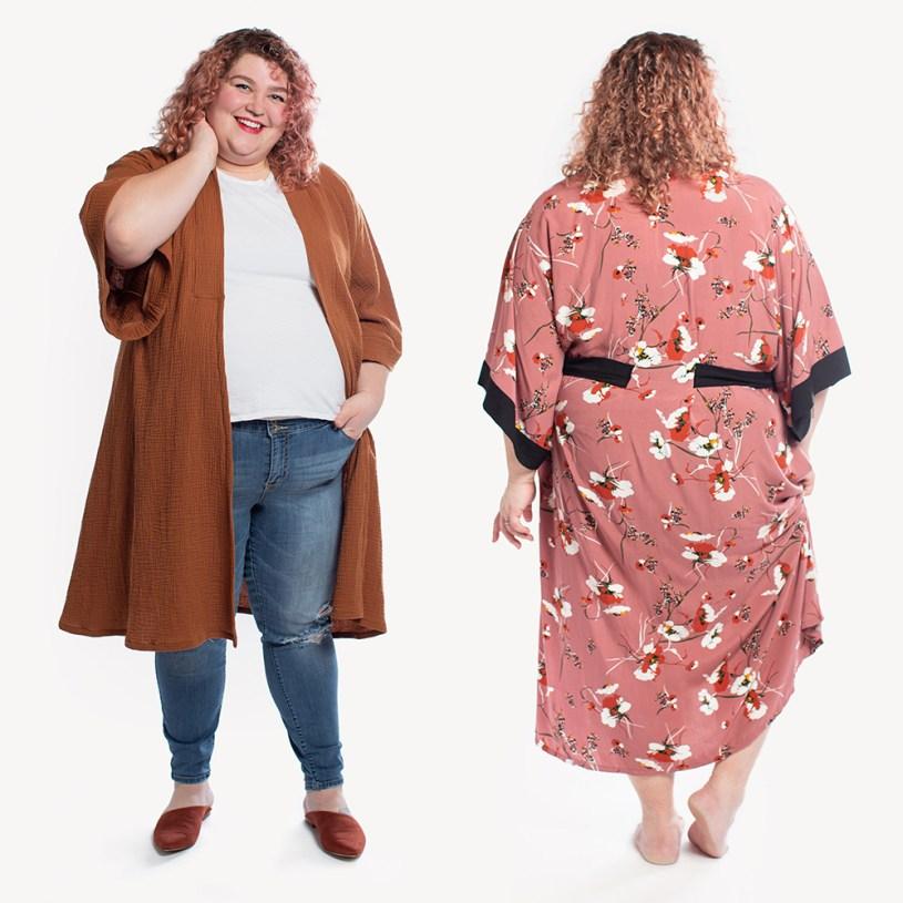 Suki Robe by Helen's Closet Patterns