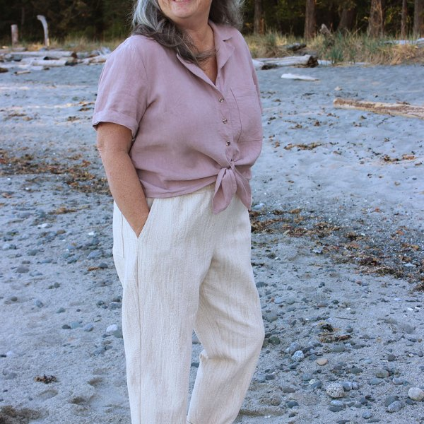 Arden Pants Sewing Pattern by Helen's Closet Patterns