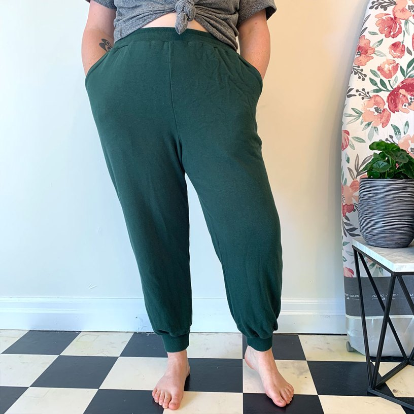 Arden Pants in knit fabric