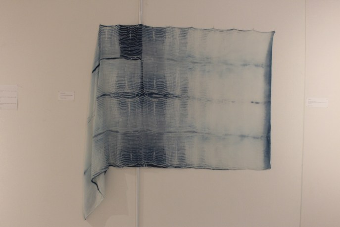 'fon ma laew' Alexandra Dalferro - wool/ silk twill blend dyed with indigo