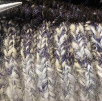 Green Eileen & NY Fibers Knitting