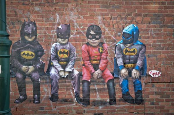 Street Art Helen Twin Artwork