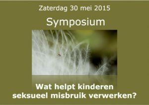 Banner liggend symposium 30 mei 2015