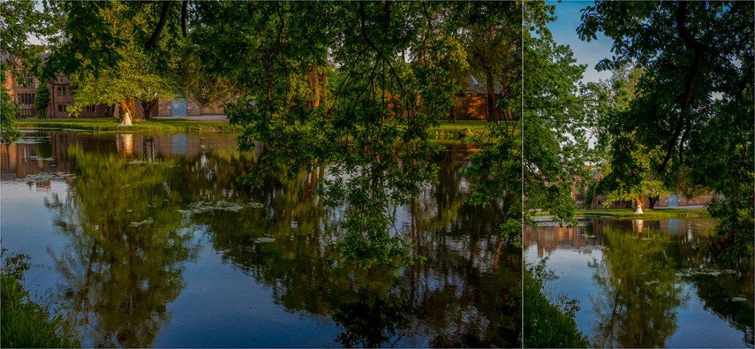 Dorfold Hall Lake Reflections