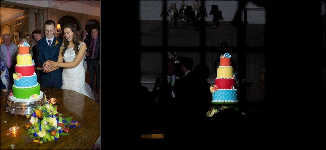Thornton Manor Wedding Cake