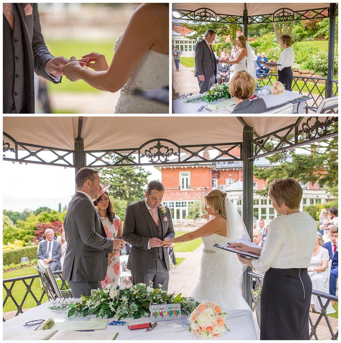 Wedding Ceremony Upper House Barlaston