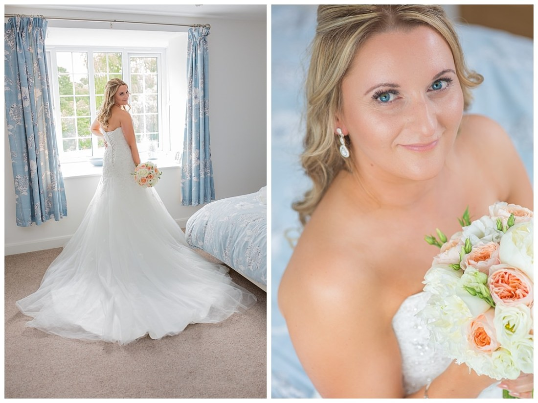 Stafforshire Bride Upper House Barlaston