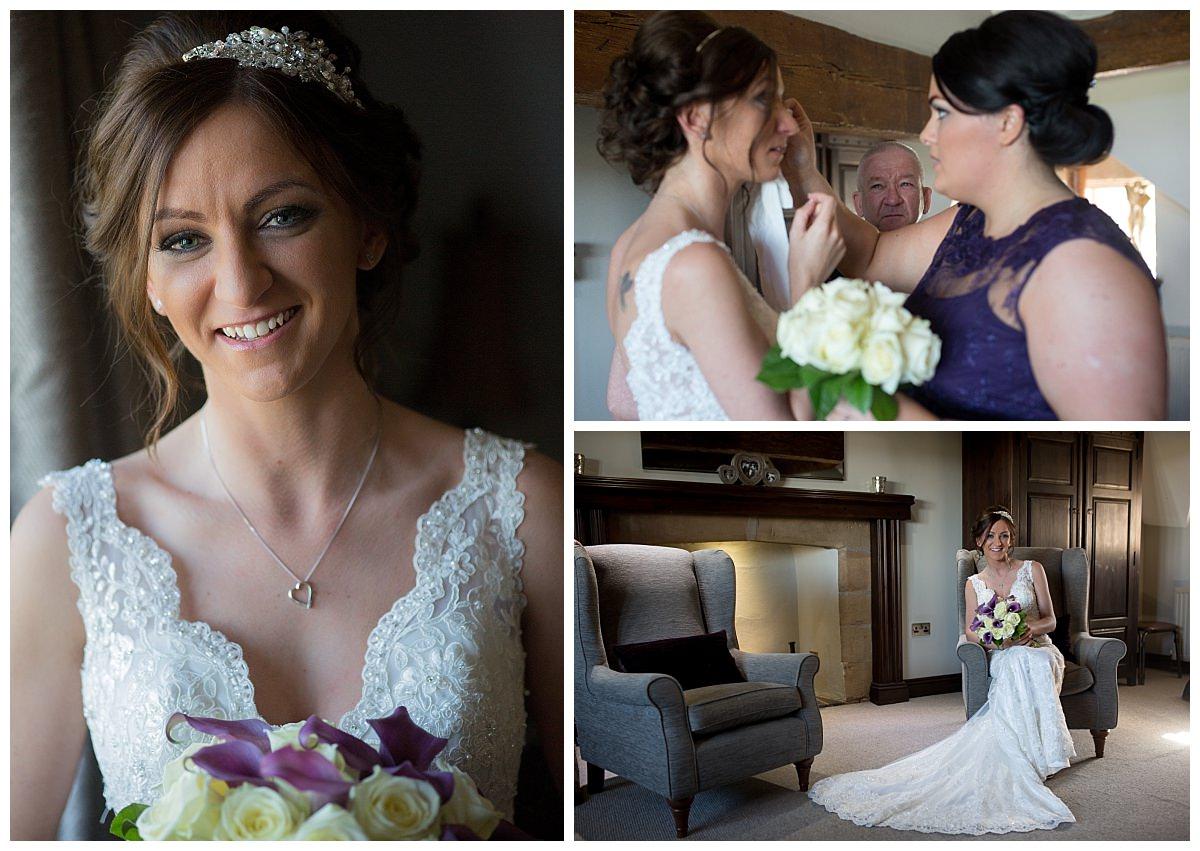 Bridal Portraits at Weston Hall