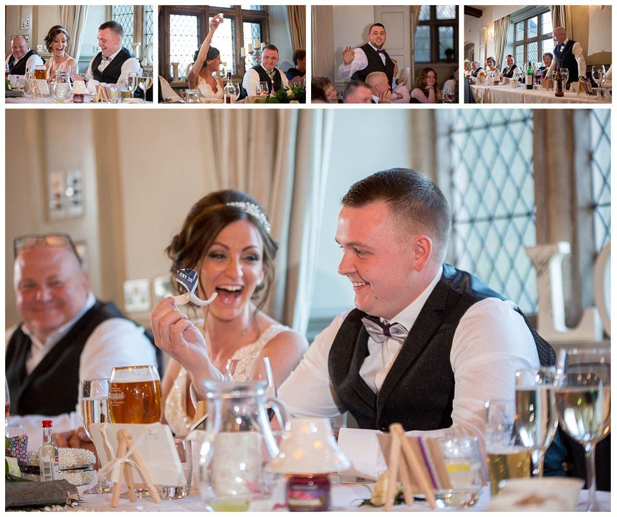 Wedding Speeches at Weston Hall