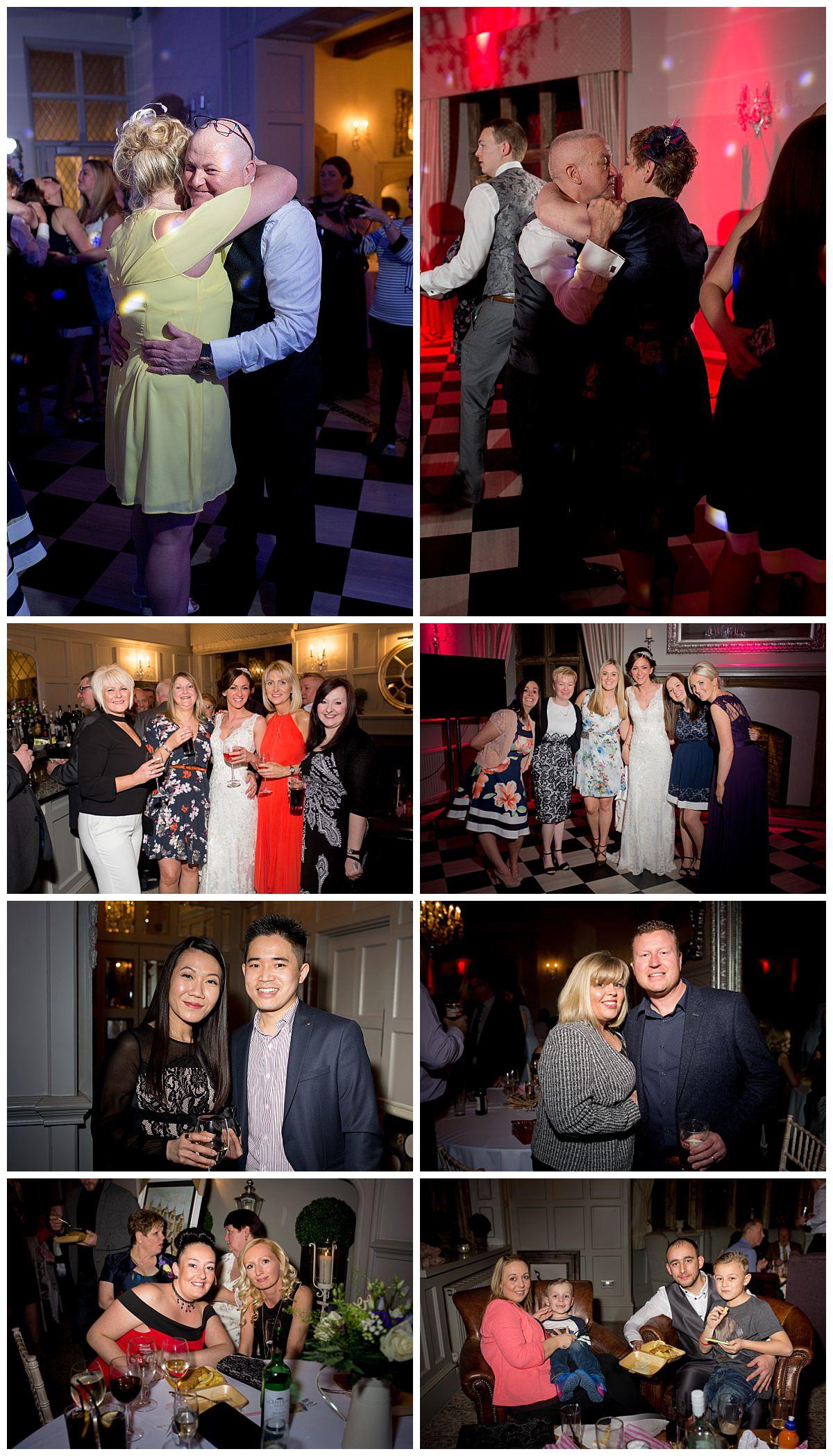 Wedding Guests at Weston Hall