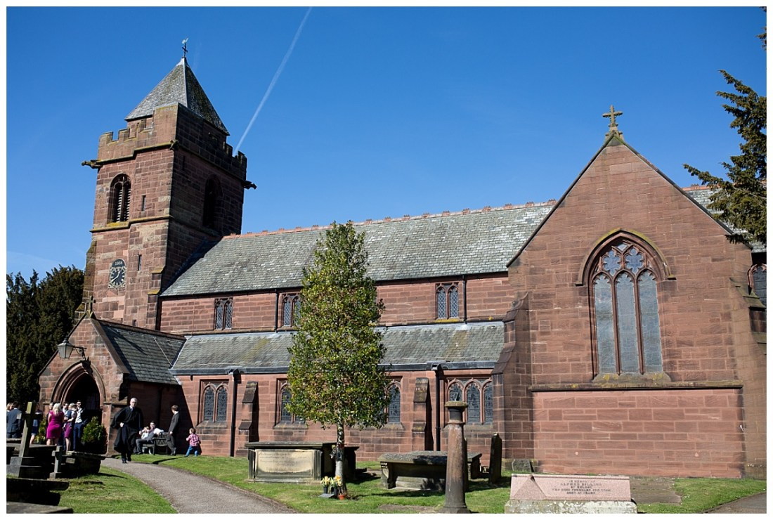 St James' Church, Christleton