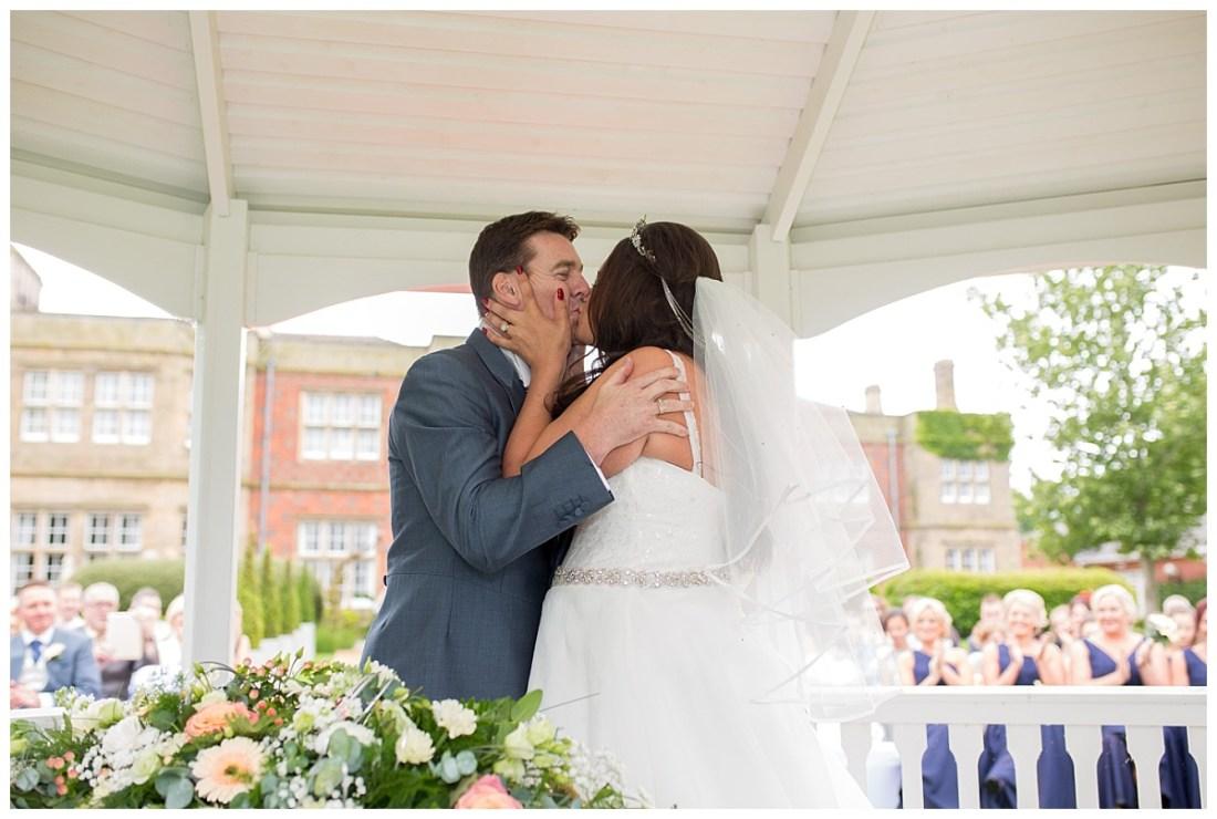 Outdoor Wedding Ceremony Cranage Estate