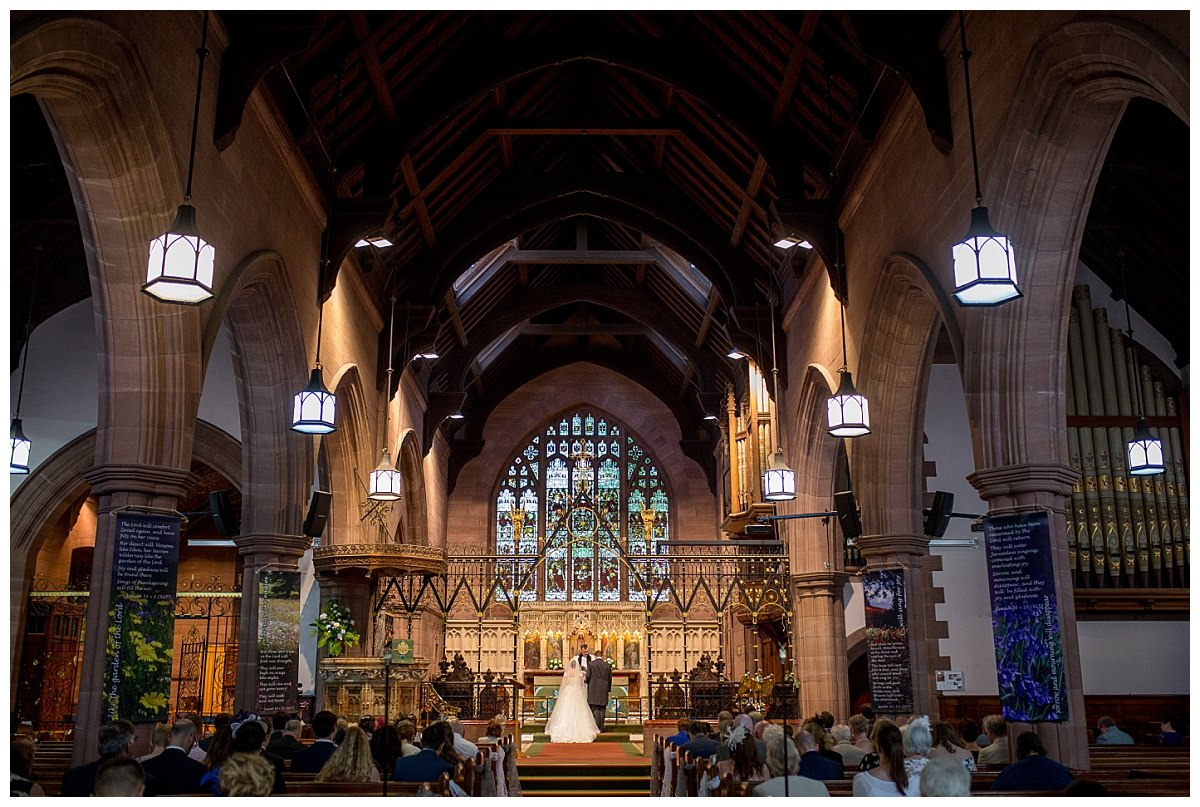 St Peter's Church Woolton Wedding Photographer