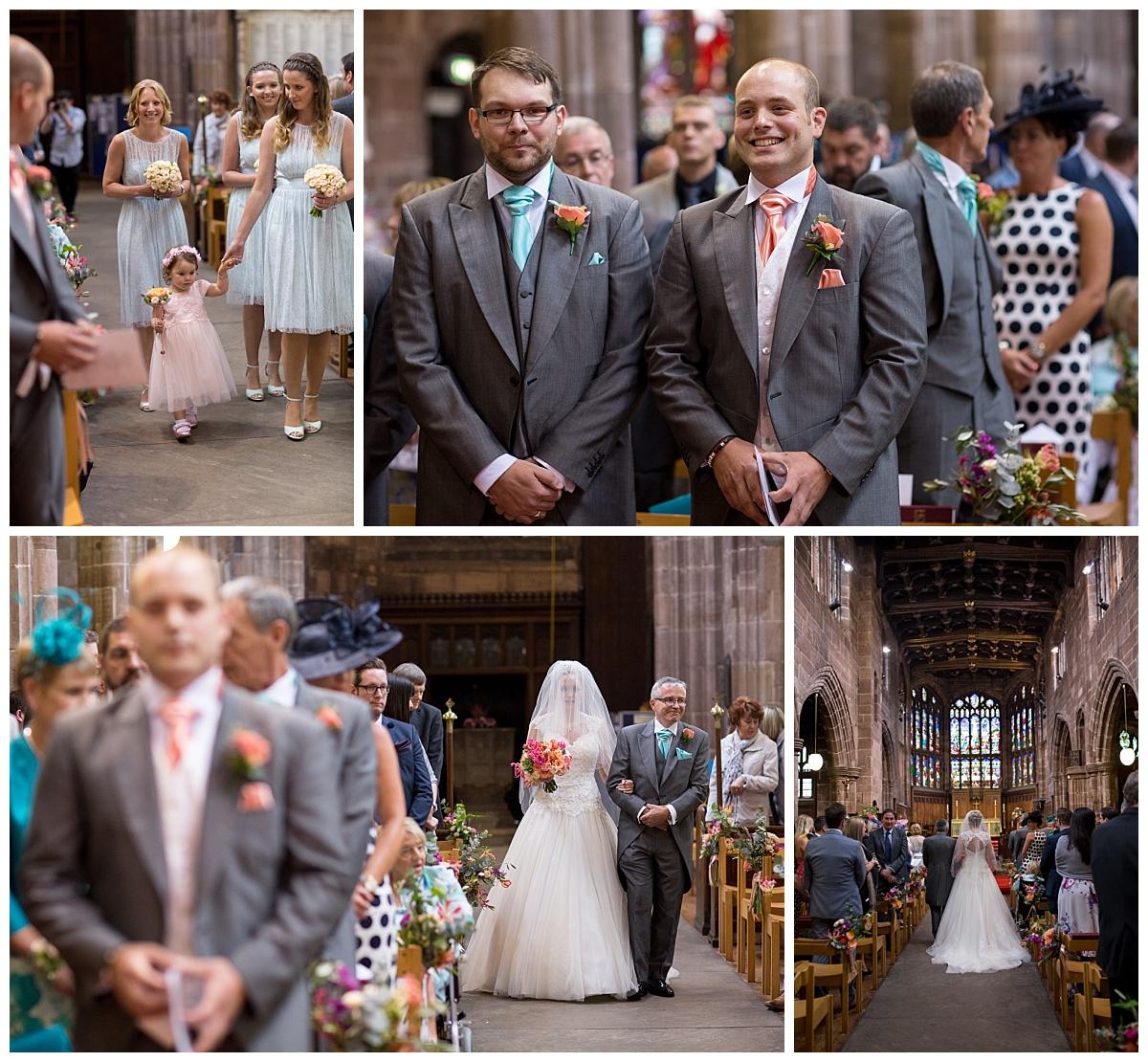 Northwich Church Wedding