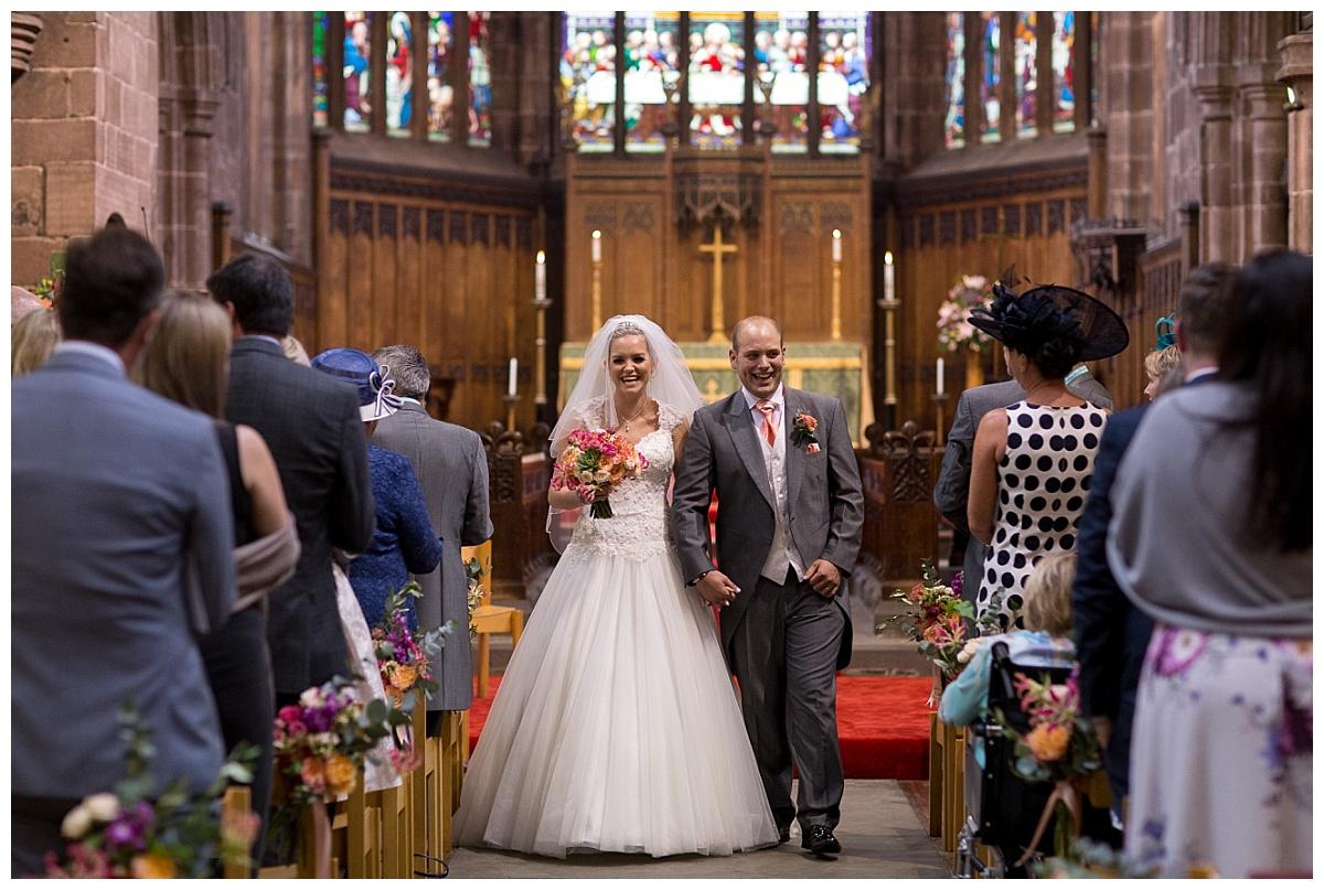 St Helen's Church Northwich Wedding