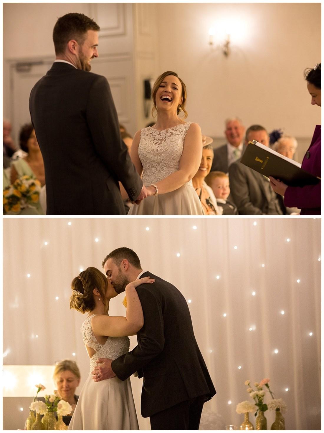Wedding Ceremony at Mottram Hall