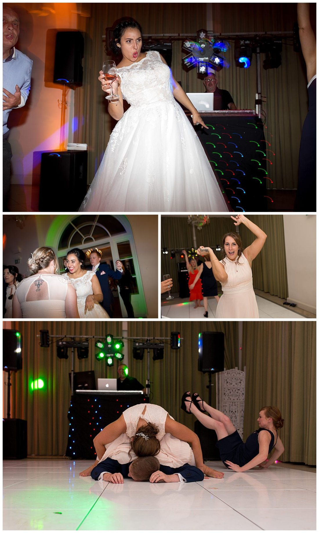 Dancefloor pics at Iscoyd Park wedding