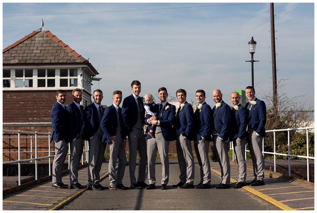 Groomsmen at Ellesmere Port Holiday Inn