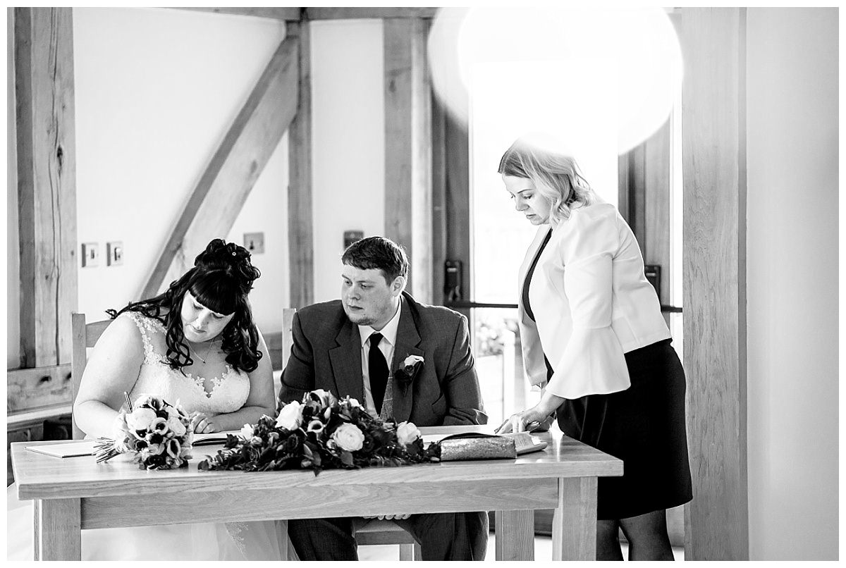 Sandhole Oak Barn Photos