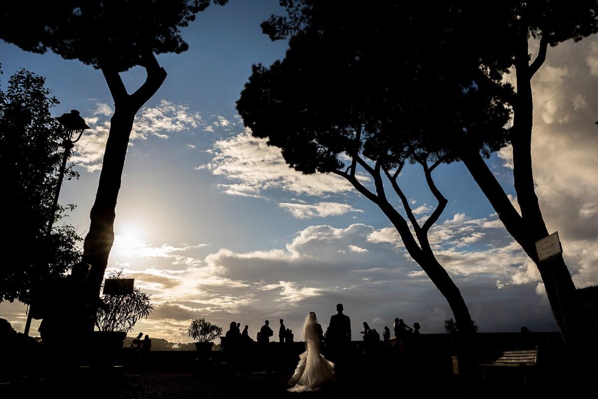 Parco Savello wedding