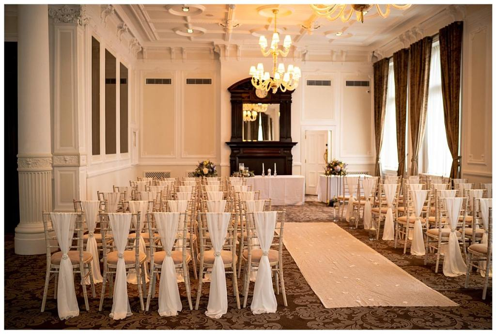 Ceremony Room at the DoubleTree Hilton Liverpool