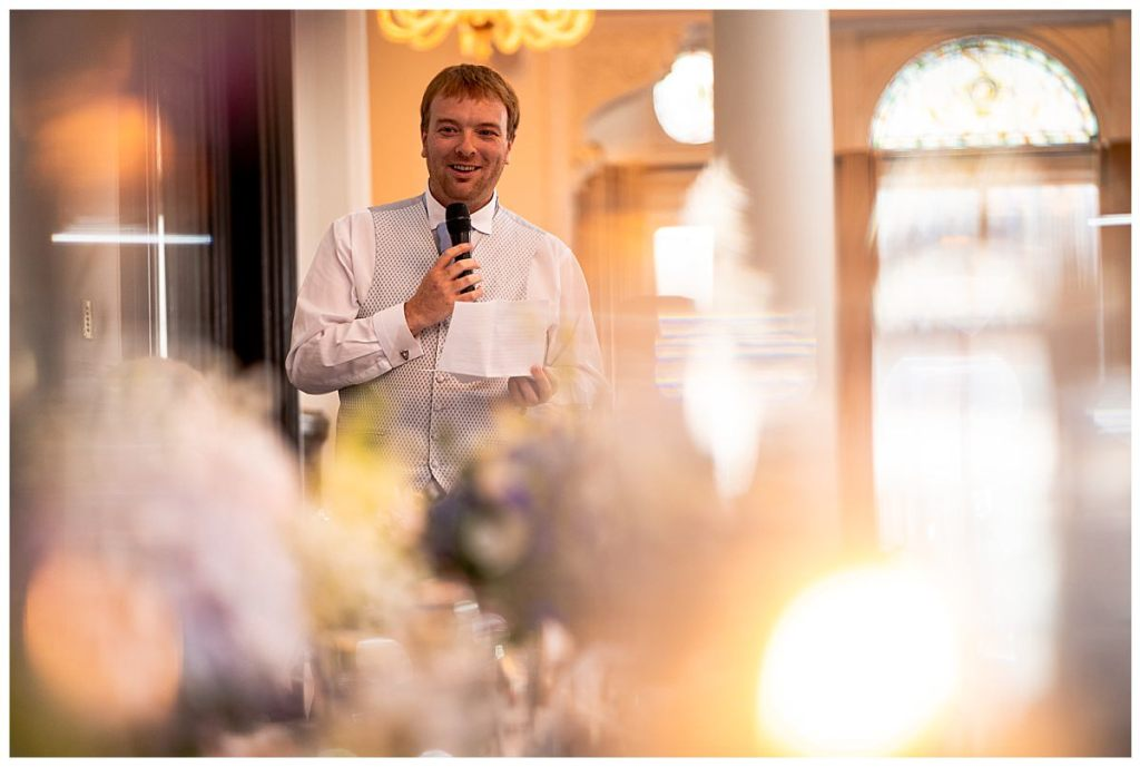 Speeches at liverpool doubletree wedding
