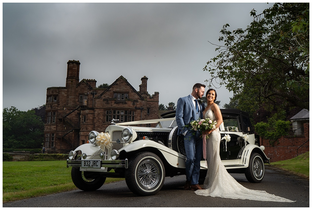 Standon Hall Wedding Car