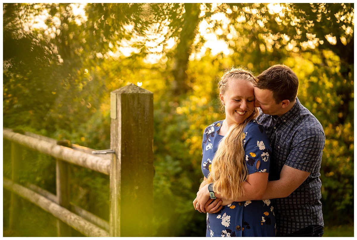 Pre-wedding shoot in Staffordshire