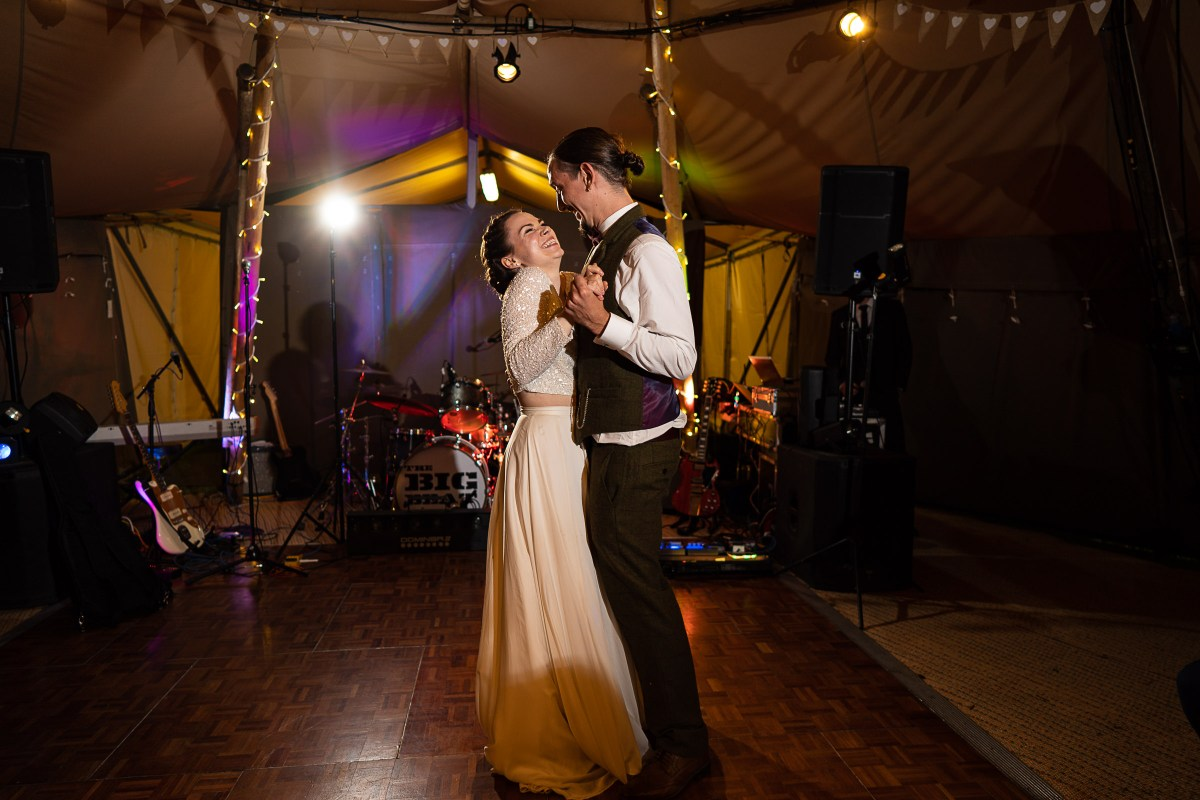 North Wales Tipi Wedding