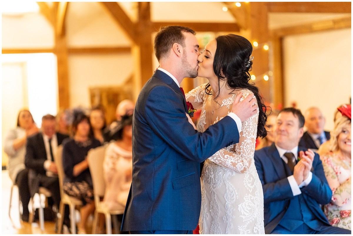 Sandhole Oak Barn Wedding Ceremony