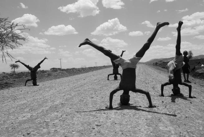 Street Performers, 2010, C-Print