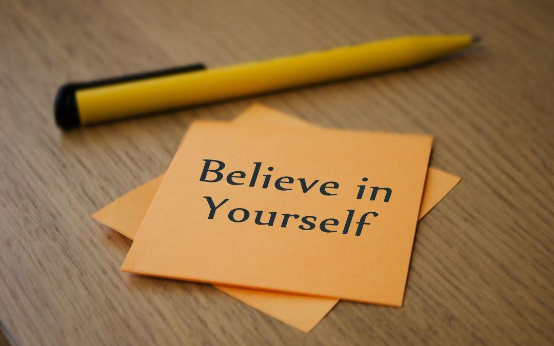 Aprender a conocerte para volver a creer en ti