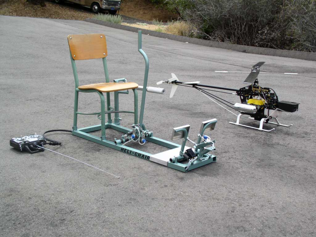 Flight Simulator Chair Helicopter Flight Training Device Heli Chair Helichair