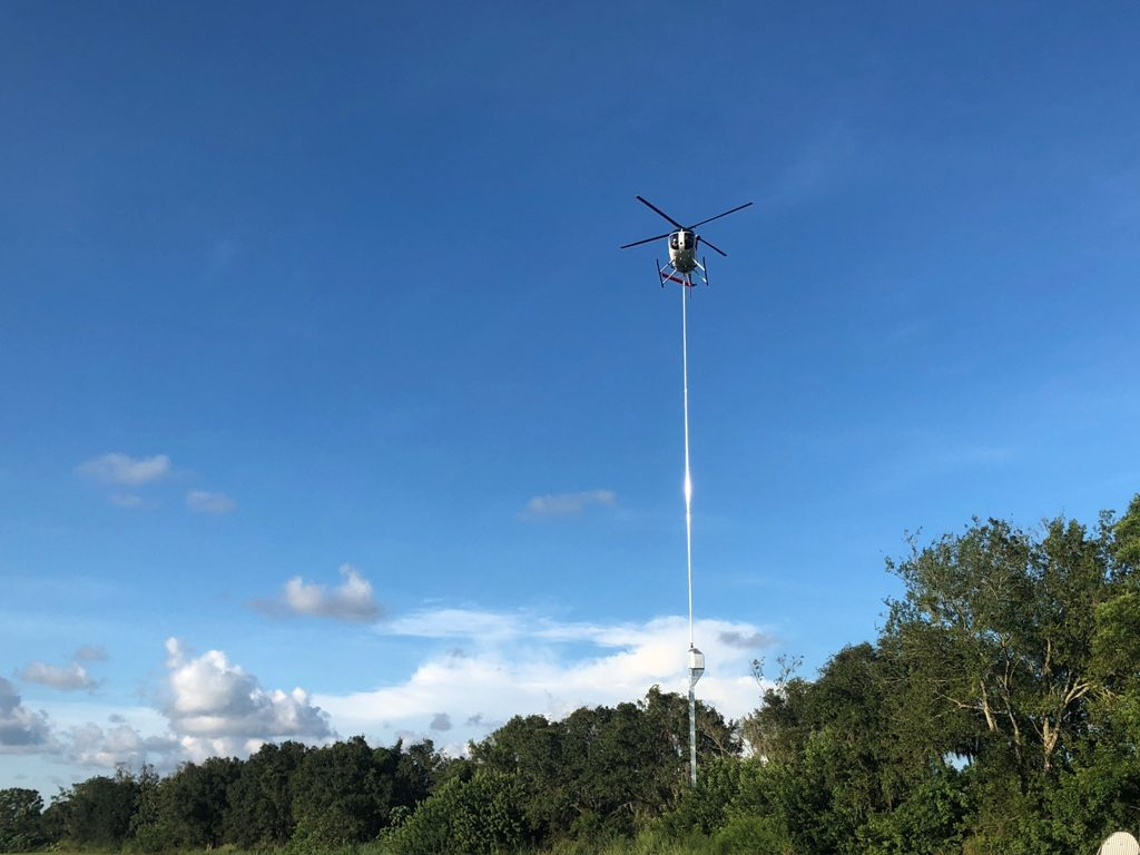 aerial trimming heli aviation