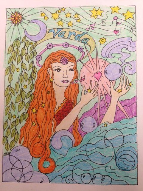 VARDA, STAR LADY of the ELVES