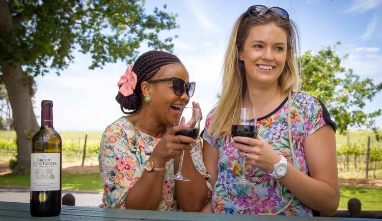 Wine tasting at Groot Constantia wine estate