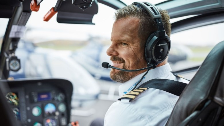 Helicopter tour pilot