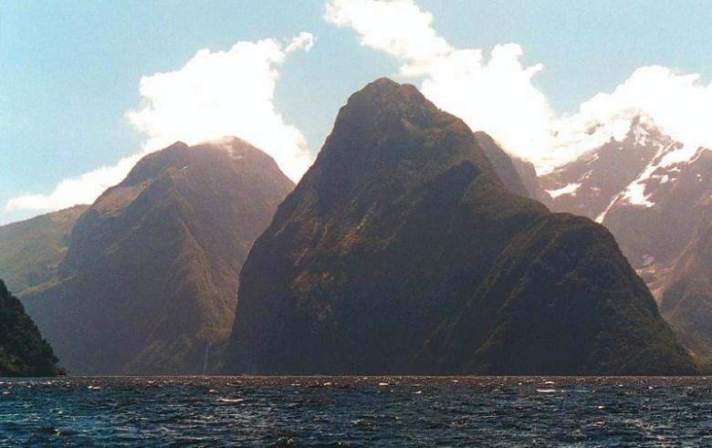 Lion mountain at Milford Sound