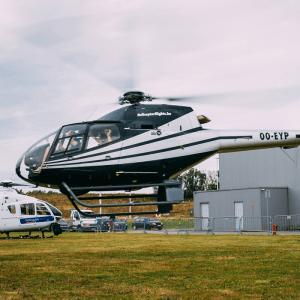 Rondvlucht – luchtdoop per helikopter – 15 minuten