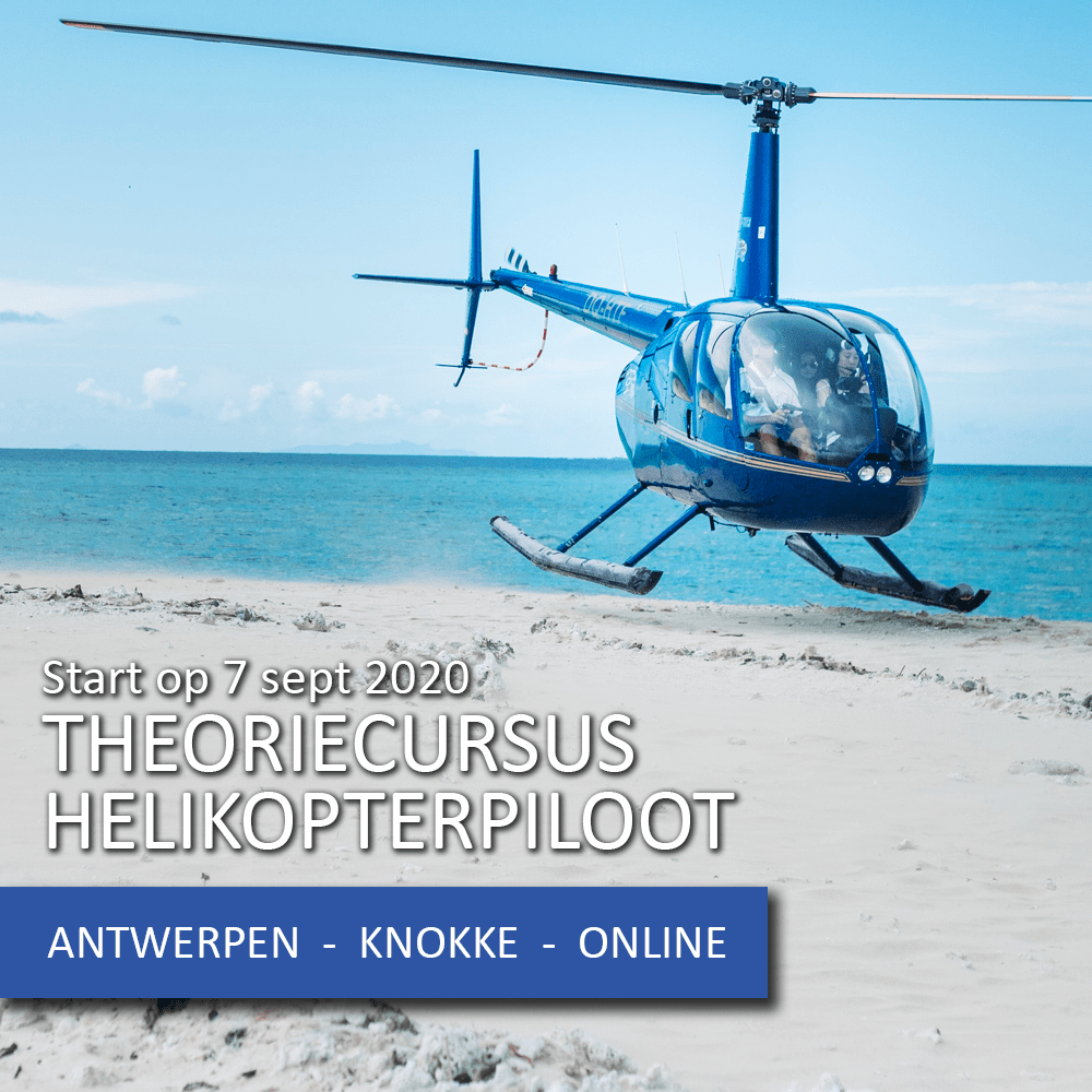 Start theoriecursus PPL helikopter