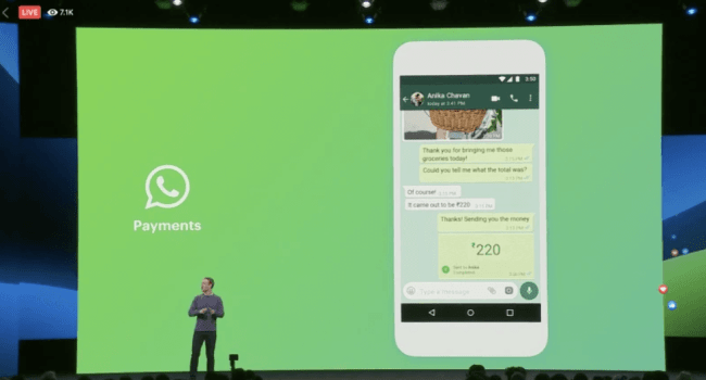 whatsapp facebook conference