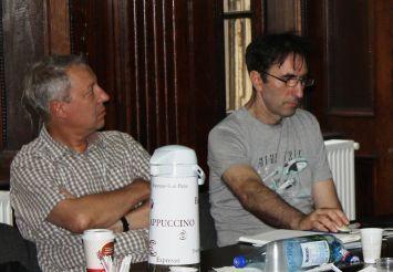 """Lucian Ionică și Adi Bancu, făcând calcule mentale: """"Cât de tare criticam?..."""""""
