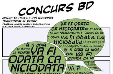 Concurs de benzi desenate (BD)