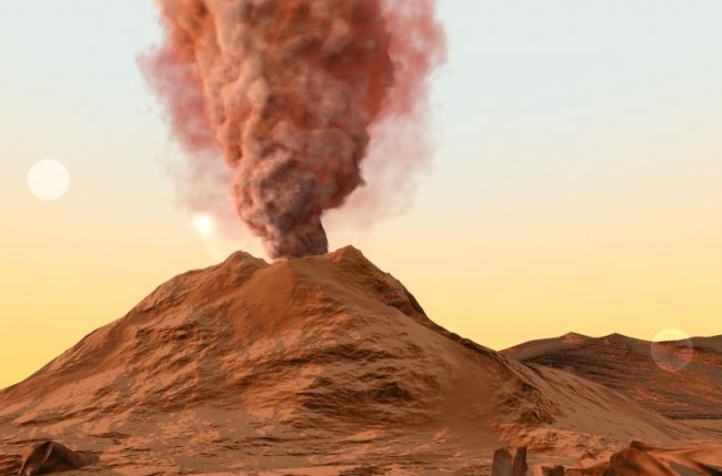 Marte-Vulcan