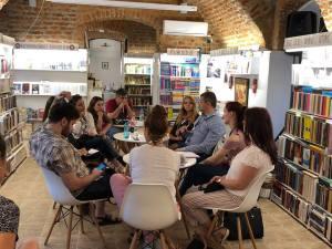 Ziua I a atelierului de proză, prezentare teoretică a unor noțiuni de tehnică literară, 07 mai 2018, 2 Bufnițe