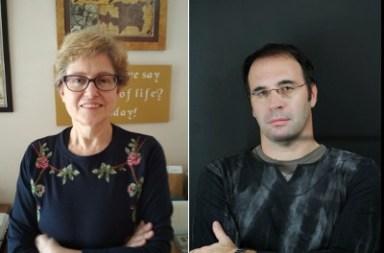 Vasso Christou si Michalis Manolios